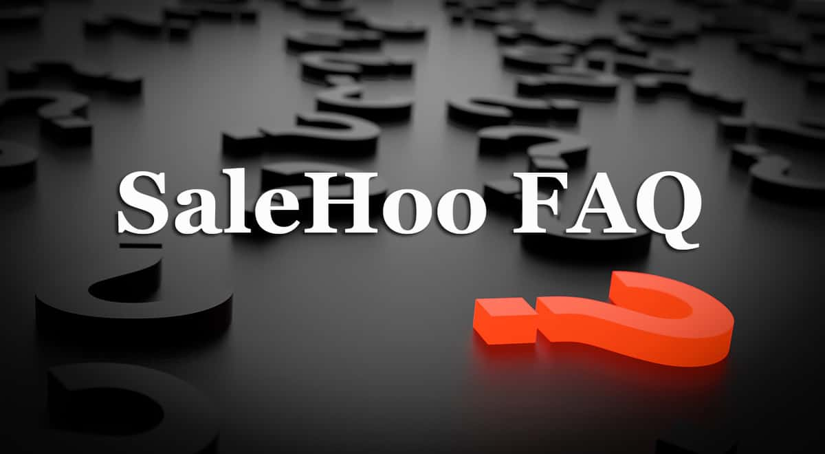 Salehoo FAQ Frequently Asked Questions