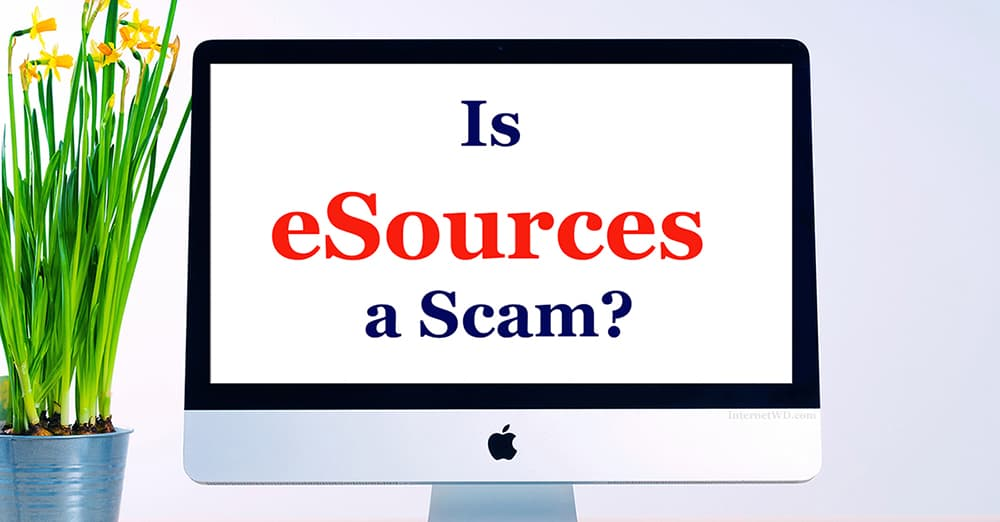 Is eSources a Scam