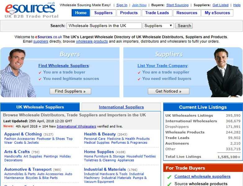 esources reviews Best Drop Shipping Companies