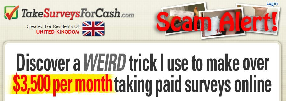 Take Surveys For Cash Reviews Scam Alert